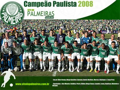 Palmeiras Campeão Paulista 2008