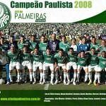 Pôster: Palmeiras Campeão Paulista 2008