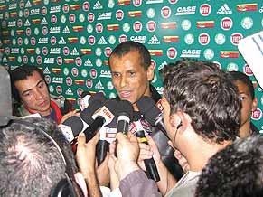 Rivaldo no Palmeiras