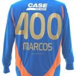 Goleiro Marcos ganha camisa comemorativa pelos 400 jogos
