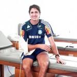 Edmílson começa a fisioterapia no Palmeiras