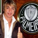 Paulo Nunes leva filho para jogar no Palmeiras