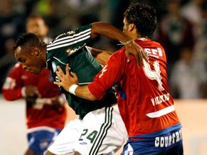 Estreia - Atacante Obina do Palmeiras