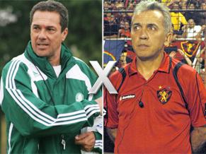 Luxemburgo do Palmeiras x Nelsinho do Sport Recife