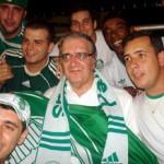 Presidente Belluzzo sofre e vibra junto com os torcedores do Palmeiras
