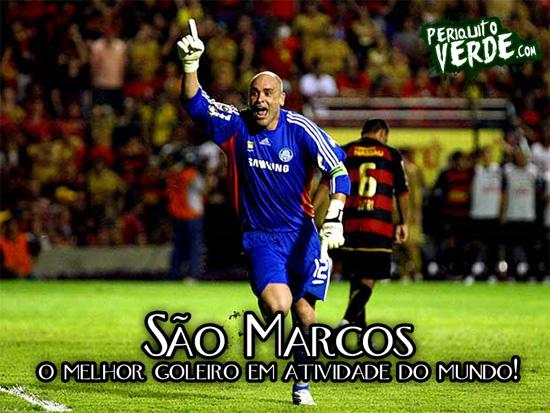 São Marcos: O melhor goleiro em atividade do mundo!
