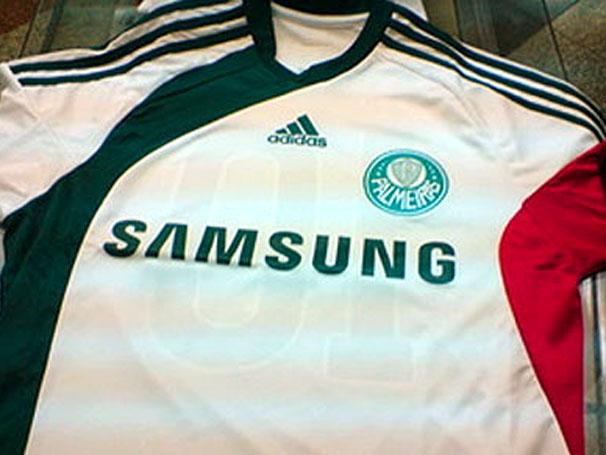 Camisas do Palmeiras - Modelo: 2009 / 2010 - Branca