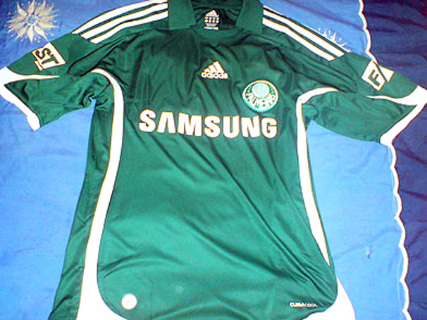 Camisas do Palmeiras - Modelo: 2009 / 2010 - Verde