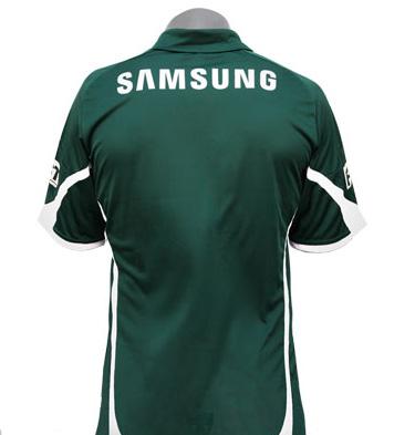 Camisas do Palmeiras - Modelo: 2009 e 2010 - Costas