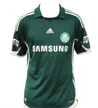 Camisas do Palmeiras - Modelo 2009 e 2010 - Frente