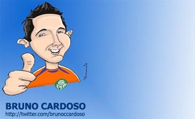 Twitter do Goleiro Bruno Cardoso do Palmeiras