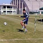Em recuperação, Zagueiro Edmilson já treina com bola
