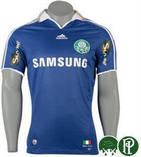 Camisa Azul Palmeiras - Suposta