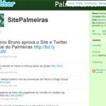 Twitter do Site Oficial do Palmeiras, confira!
