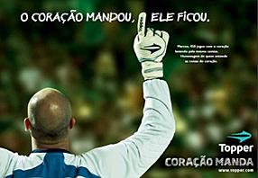 Homenagem da Topper ao Goleiro Marcos pelos 450 jogos no Palmeiras