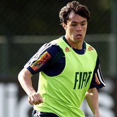 Atacante Kléber no Palmeiras
