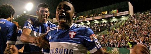Obina Brilha e Palmeiras vence o Goiás e volta para a Liderança do Brasileirão 2009