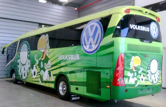 Fotos do Ônibus Personalizado do Palmeiras - #1