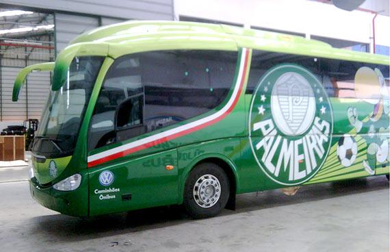 Fotos do Ônibus Personalizado do Palmeiras - #2