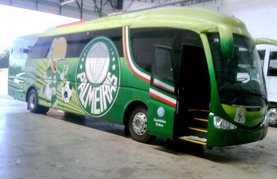 Fotos do Ônibus Personalizado do Palmeiras - #3