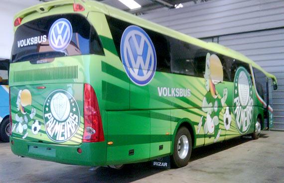 Fotos do Ônibus Personalizado do Palmeiras - #4