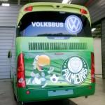 Fotos do Ônibus Personalizado do Palmeiras