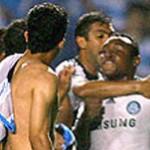 Após confusão, Maurício e Obina são demitidos do Palmeiras