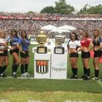 Gatas do Paulistão apresentam a taça do Campeão Paulista 2010