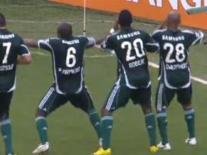 """Com muita garra, Palmeiras vence o """"favorito"""" Santos de virada!"""