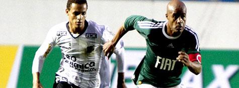 Marcos Assunção marca de falta, mas Palmeiras e Ceará ficam no empate