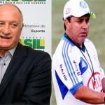 Felipão elogia o Gilson Kleina e diz que deixou o Palmeiras na hora certa