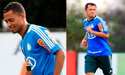 João Vitor aparece no CT e Correa vira duvida