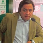"""Presidente Tirone faz discurso no Palmeiras """"Eu não aceito o rebaixamento"""""""