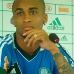 Palmeiras tem mais um desfalque dessa vez foi Wesley com dor na coxa