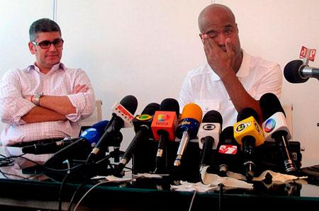 Palmeiras nao renova o contrato com Marcos Assuncao e ele chora ao se desperdir