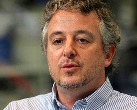 Paulo Nobre e o novo presidente do Palmeiras