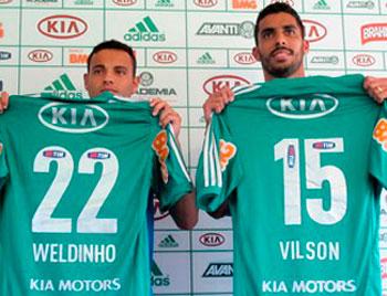 Palmeiras com novos reforcos como titulares para estreiar na Libertadores