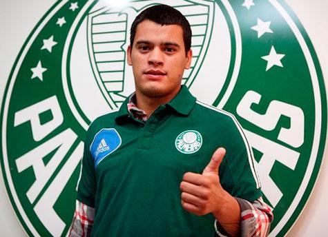 Willian Mendieta e o mais novo contratado para reforcar o elenco do Palmeiras
