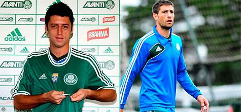 Felipe Menezes e Eguren vao ser titulares pela primeira vez no Palmeiras