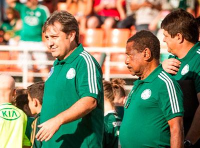 Com desfalques no Palmeiras Gilson Kleina mantem tres volante para o jogo contra ABC - RN