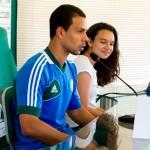 Lateral do Palmeiras Wendel está perto de renovar o contrato com o time