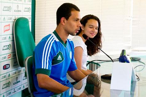 Lateral do Palmeiras Wendel esta perto de renovar o contrato com o time