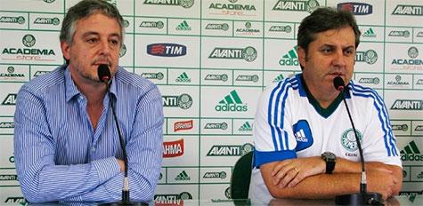 Paulo Nobre renova o contrato com Gilson Kleina e promete reforcos para 2014