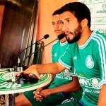 Palmeiras apresentou nessa segunda-feira suas novas contratações para 2014