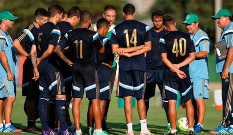 Gilson Kleina arma time no 4-3-3 para o jogo desta quinta feira contra o Sao Bernardo
