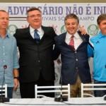 Palmeiras e Corinthians se juntam para pedir paz entre os torcedores