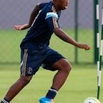 Patrick Vieira fica no lugar de Marquinhos Gabriel em treino táctico no Palmeiras