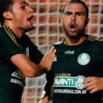 Bruno César marca dois gols e Palmeiras garante vaga para próxima fase da Copa do Brasil