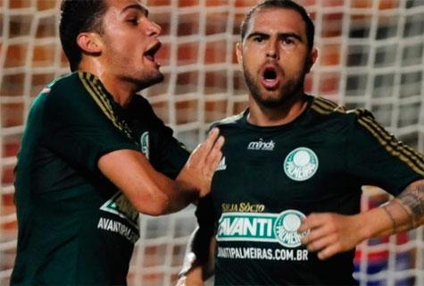 Bruno Cesar marca dois gols e Palmeiras garante a vaga para proxima fase da Copa do Brasil