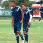 Palmeiras promove zagueiro e atacante da base para reforçar o elenco